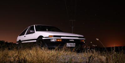 Evening Photoshoot with the AE86